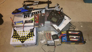 RC Helicopter - Blade 450X c/w everything