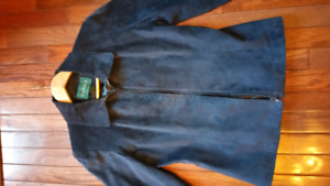 DANIER LEATHER suede jacket