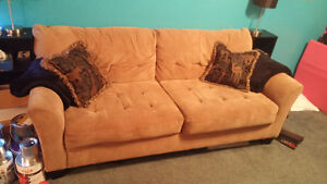 Couch and chaise Kitchener / Waterloo Kitchener Area image 1