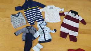 0-3-6 month clothes (boy)