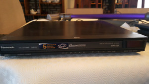 Panasonic DVD/CD 5 DISC Changer