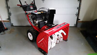 Troy bilt snow blower 33 in - loaded with features