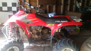 2000 Polaris scrambler 4x4 whats out there for trades.