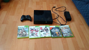 Xbox 360 slim very good condition 4gb
