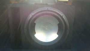 Presicision 800W 12' sub with box and 2 amps Cambridge Kitchener Area image 2