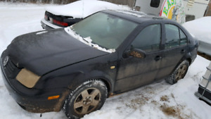 Parting out VW Jetta
