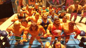 WWE & WWF Wrestlers & Accessories: Hasbro, Mattel, Jakks, LJN