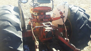 Parting out 2 ji case 600b tractors.
