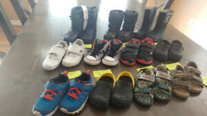 Brand Name Shoes, Size 5T to 8T