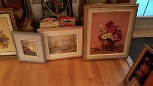 Vintage ART SALE Quality oil paintings various artists West Island Greater Montréal image 6