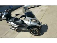 2016 66 PIAGGIO MP3 500 LT SPORT ABS ASC TRICYCLE TRIKE RIDE ON CAR LICENSE