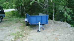 4x8 scott built utility trailer with sides