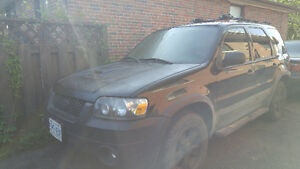 2006 Ford Escape ext SUV, Crossover as is