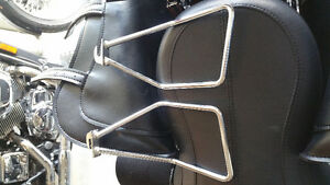 HD Softail saddlebag supports