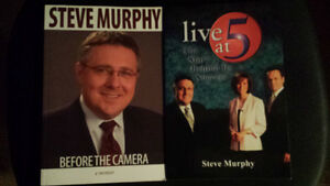 Steve Murphy Live at 5 books