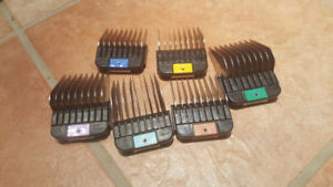 Wahl used clipper combs pack of 6