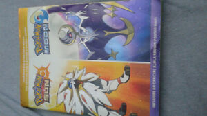 Pokemon sun and moon guide book for sale!