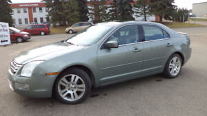08 Fusion - auto - FULLY LOADED - AWD - LEATHER - ONLY 110,000KM