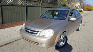 2002 Chevrolet Optra loaded and low km
