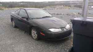 2001 Saturn Coupe for Parts or Repair