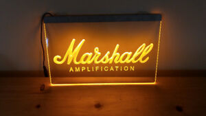 Affiche Lumineuse ''Marshall''