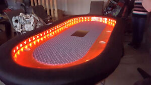 10 Person LED Poker Table