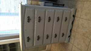5 drawer solid wood dresser