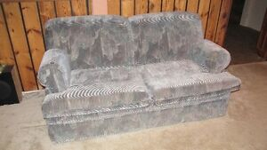 Loveseat with pullout bed
