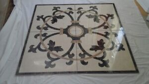 Porcelain Floor Medallion
