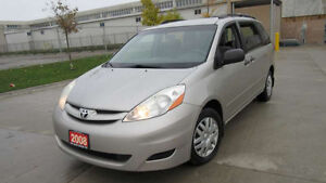 2008 Toyota Sienna,  Auto, Low km,  3 Year warranty available