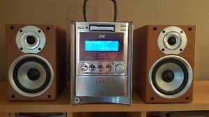JVC Compact Component System CD / Cassette / AM /FM