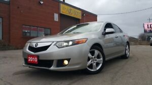 2010 Acura TSX RARE 6 SPD MANUAL LEATHER SUNROOF ALLOYS ONLY 117