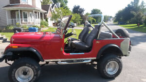 JEEP CJ7 1980 AUTOMATIQUE