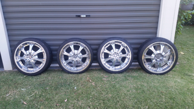 20 inch wheels and tyres | Wheels, Tyres & Rims | Gumtree Australia