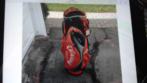 Golf bags and misc clubs