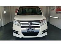 Honda stepwagon spada 2.0 automatic white sunroof mpv day van japanese import