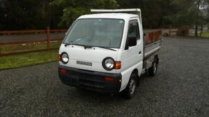 1995 Suzuki Carry, 4 WD Dump truck
