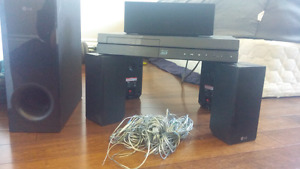 3D blueray home theater sound system