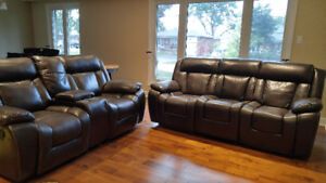 2 Reclining Chairs in great condition!