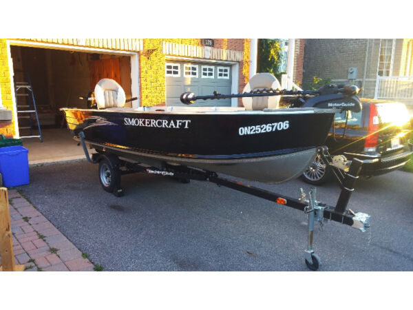 Used 2010 Smoker Craft Inc Big Fish 14