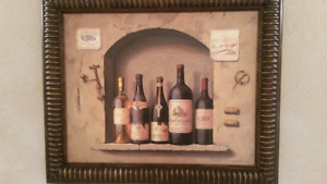 Two Pictures - Old French Bistro Wall Niche