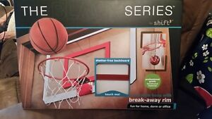 "9 ""steel rim portable mini-basketball for home BRAND NEW $ 35.00"