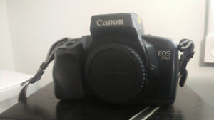 Canon EOS 750 35mm SLR film camera