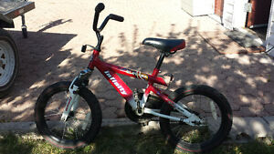 "Infinity kids bike 16"" wheels"