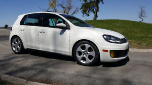 2010 VW GTI tuned; exc cond. 6 spd manual. Adult owned Certified