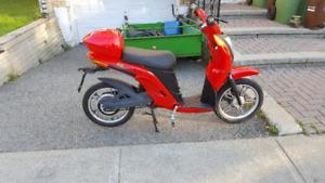 scooter électrique 72volt lithium-ion  neuve