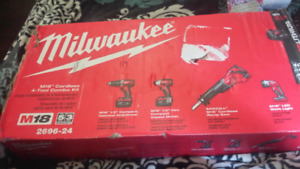 Milwaukee 4-Tool Combo