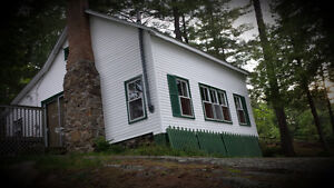 Buck Lake private rustic cottage for Sale. $297,000
