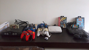 Retro game N64 PS1 Sega genesis ++