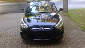 Hyundai Accent bought new in march 2017 warranty